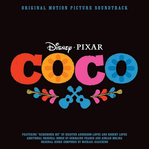"okładka albumu ""Coco Soundtrack"""
