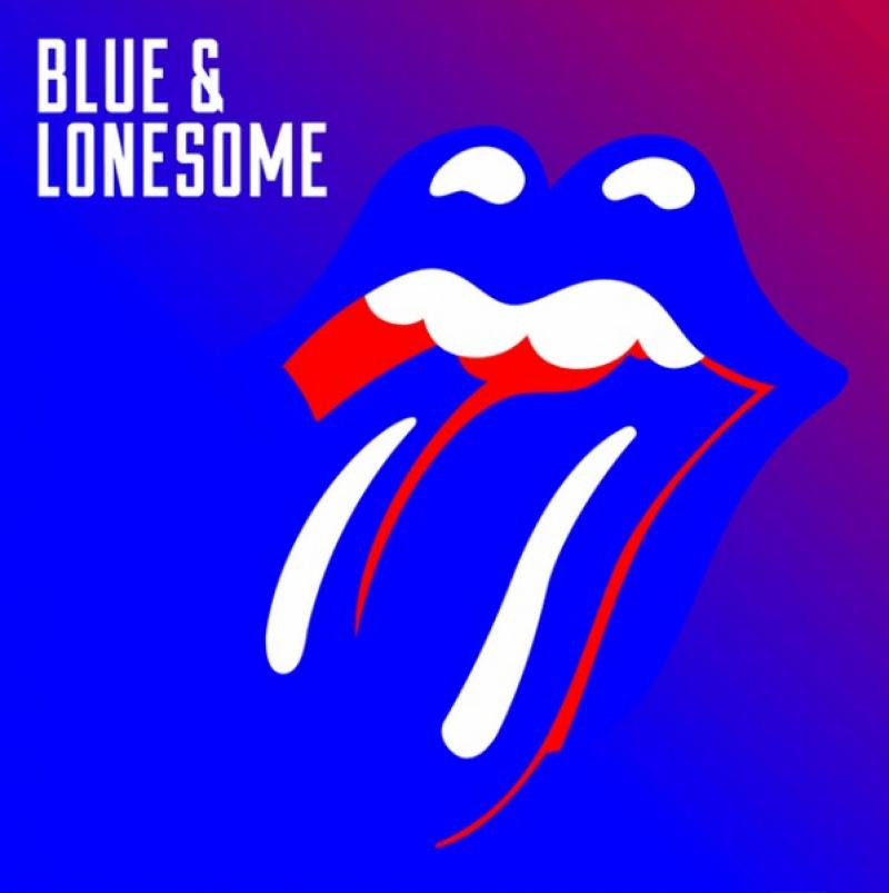 "okładka albumu ""Blue & Lonesome"""