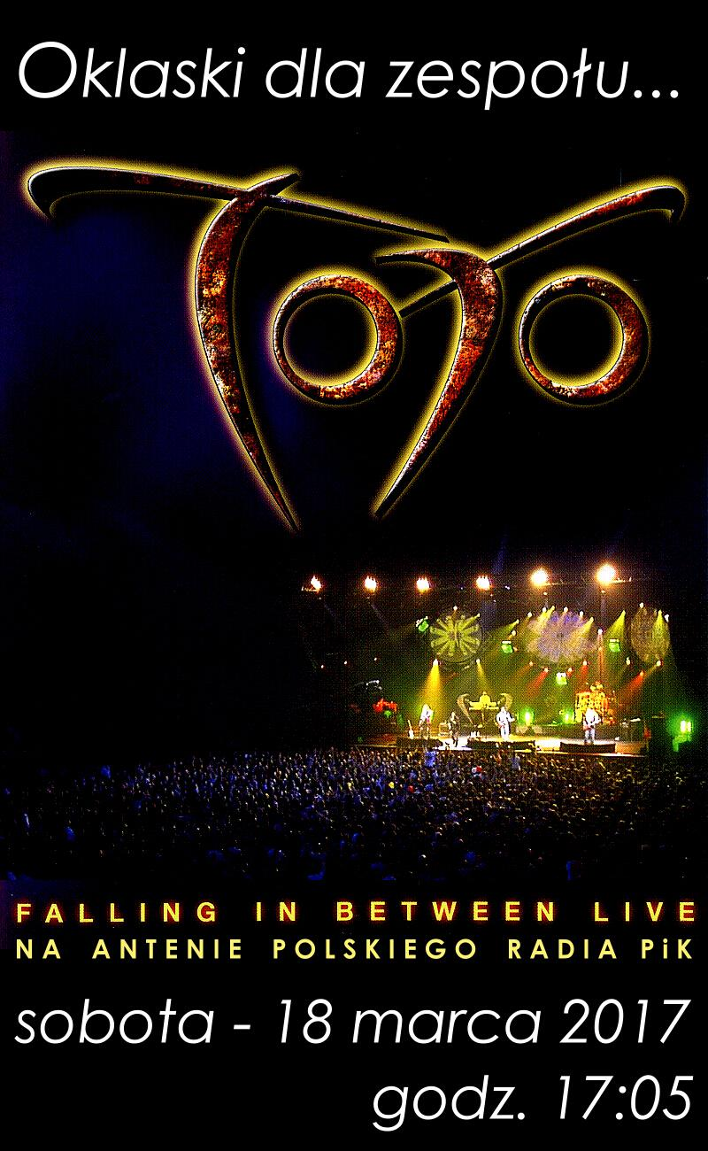 TOTO - Falling In Between Live