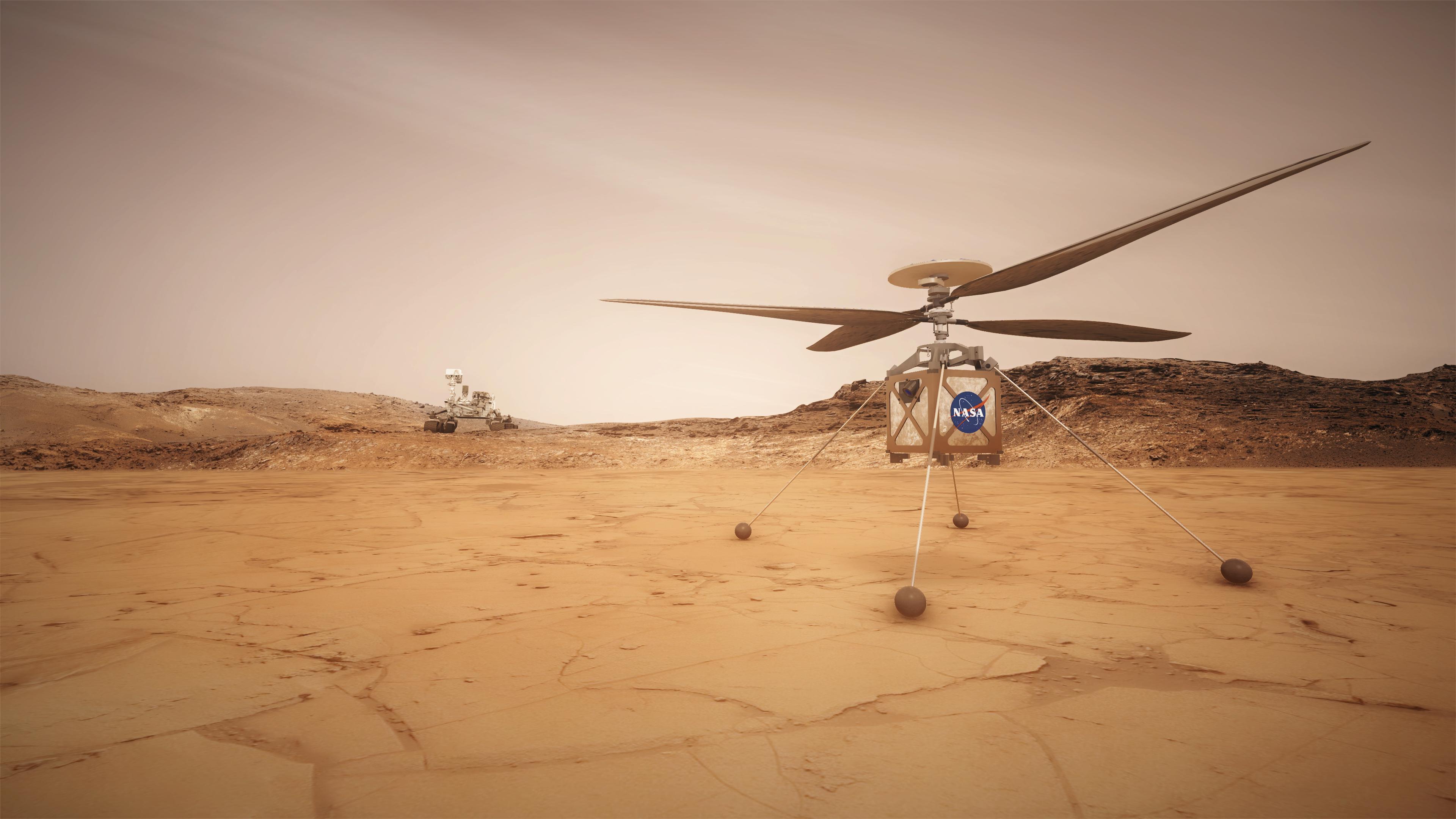 Mars 2020 Helicopter NASA