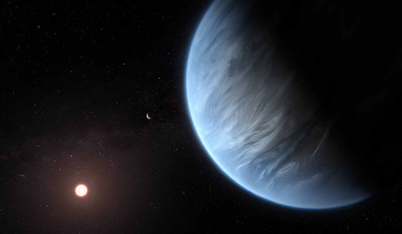 Water exoplanet spacetelescope © NASA/ESA