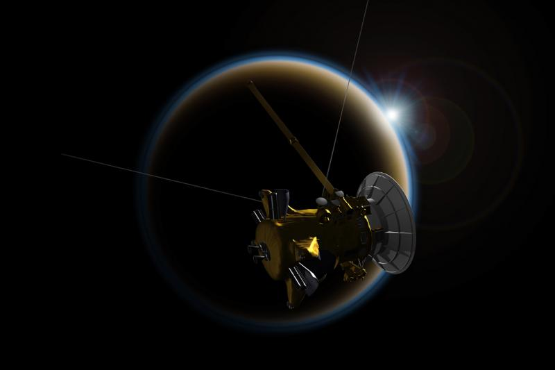 Cassini - Titan © NASA/JPL