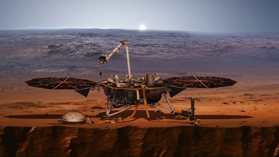 Mars InSight. Fot. © NASA