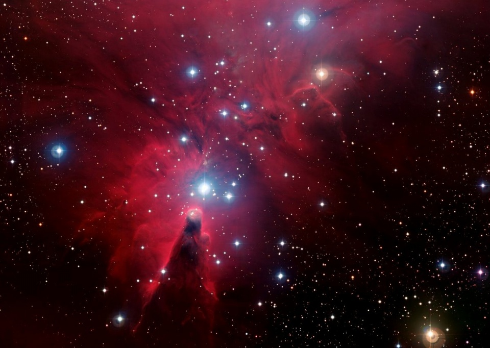 Christmas Tree nebula © ESO