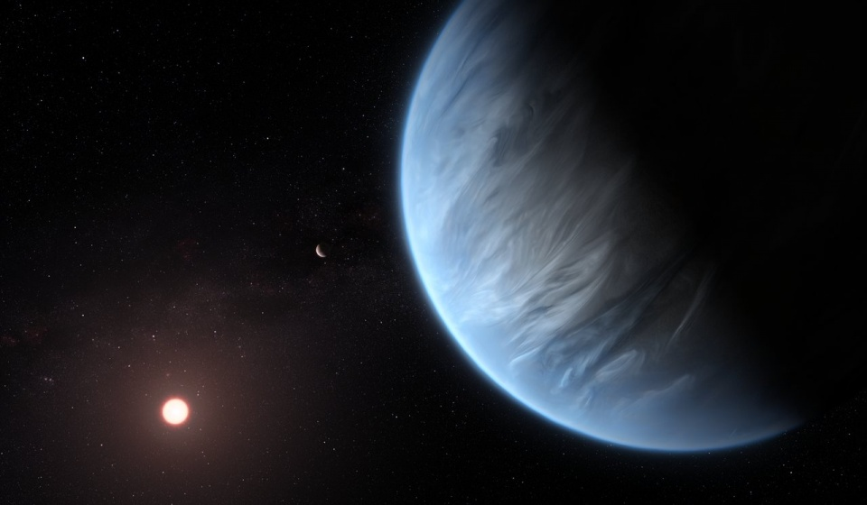 Water exoplanet spacetelescope. Foto © NASA / ESA