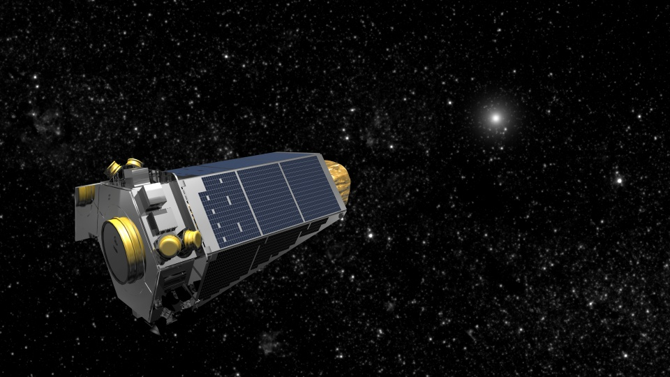 Kepler Space Telescope © NASA