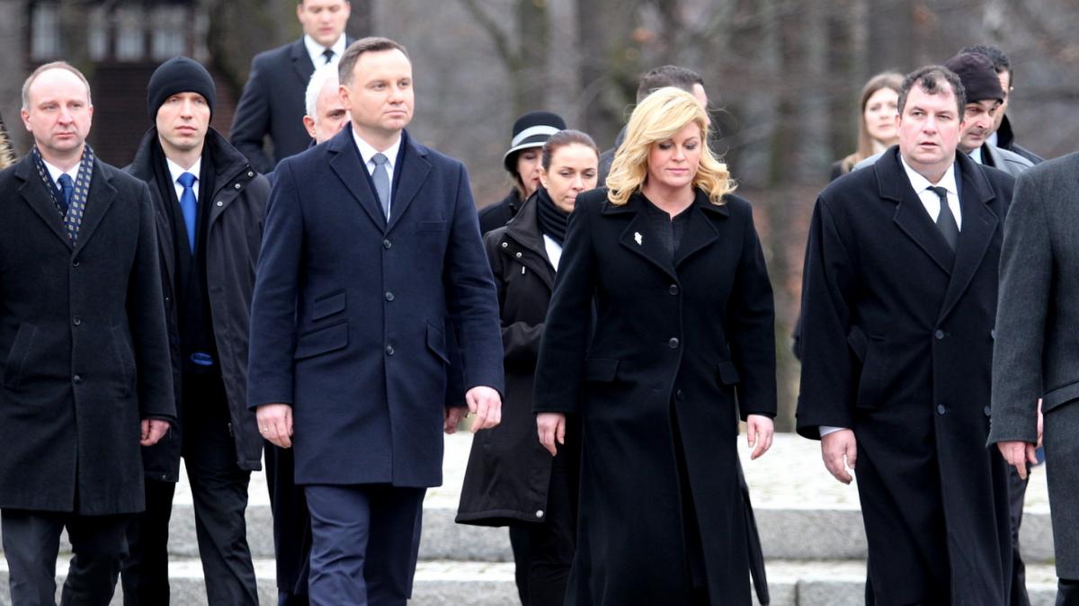 czwartek rozmowy polityczne prezydent Chorwacji z prezydentem Dudą ...