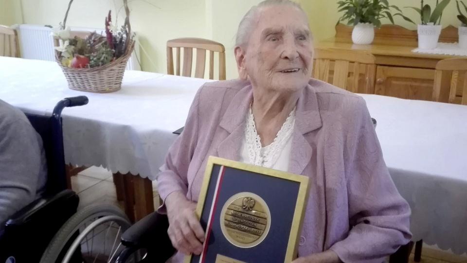 Pani Elżbieta jest jedną z najstarszych Polek, przez 50 lat mieszkała w Bydgoszczy, obecnie jest podopieczną Domu Pomocy Społecznej w Chełmnie. Fot. Marcin Doliński