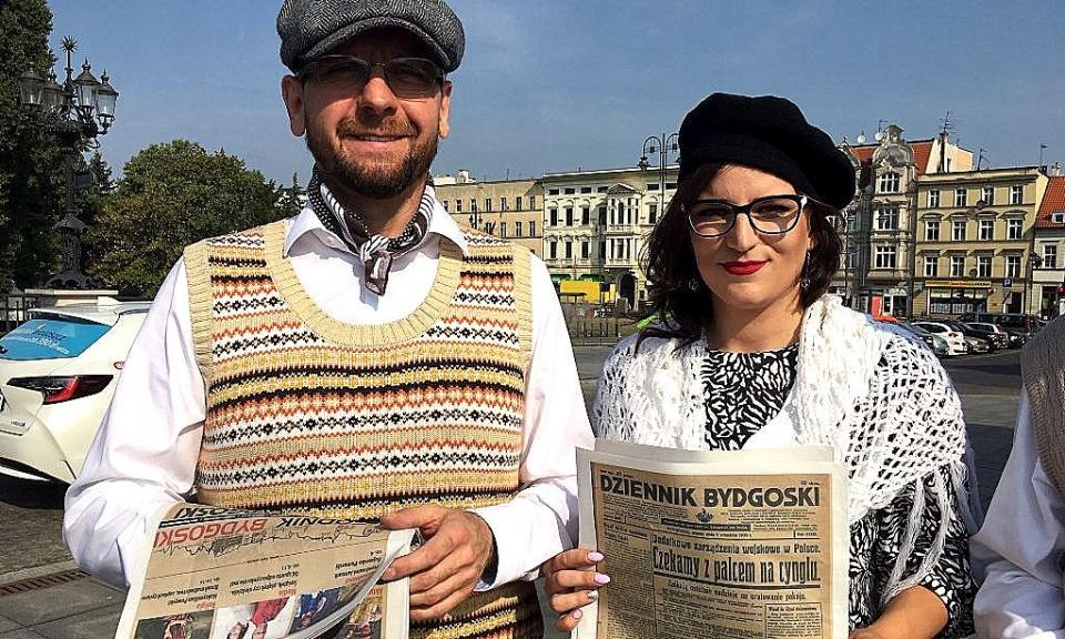 Rzadko się zdarza otrzymać Dziennik Bydgoski sprzed 80 lat...  ... - Polskie Radio PiK